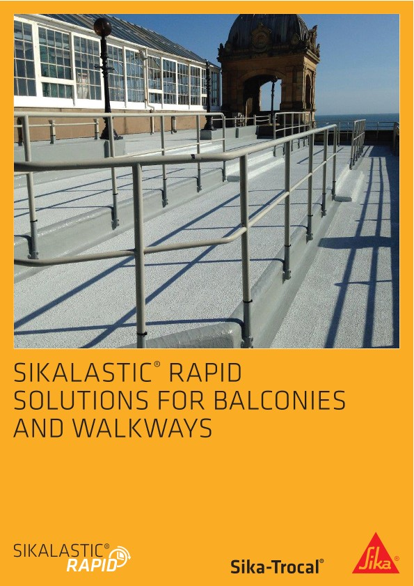 Sikalastic Rapid for Sika-Trocal